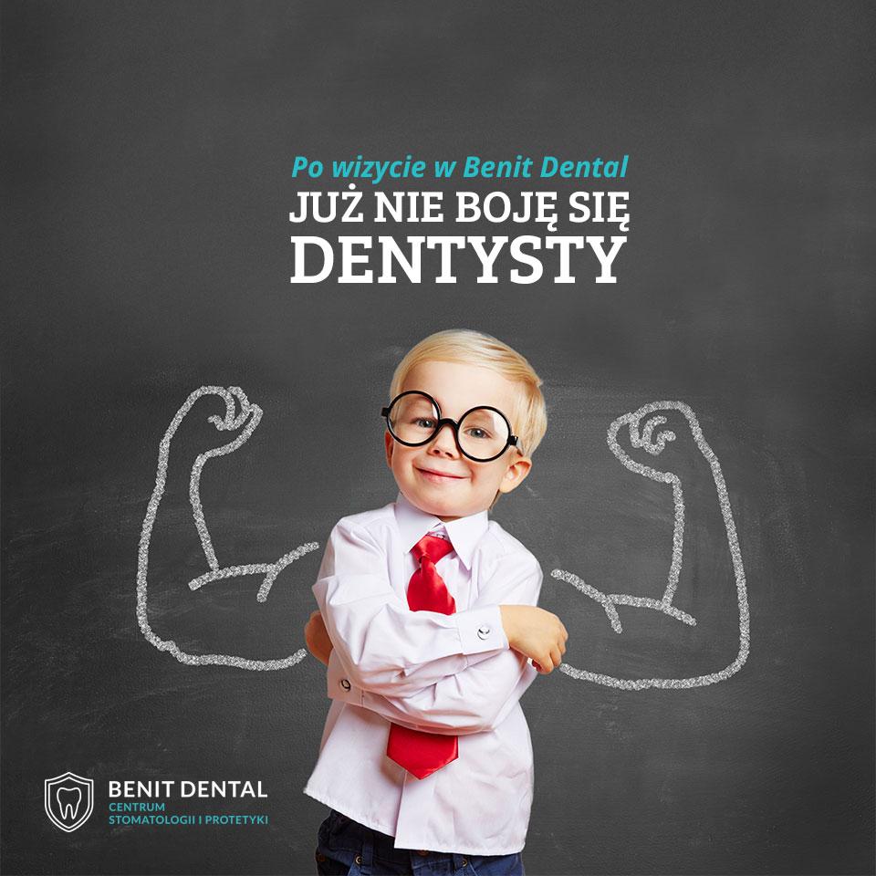 strony internetowe gorzów - endure, klient: Benit Dental