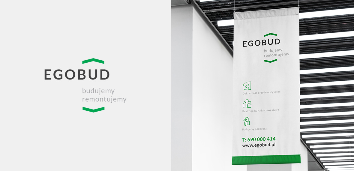 branding, logo design Egobud - endure agency