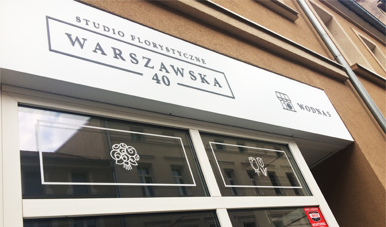 branding, kaseton Studio Florystyczne Warszawska 40 - endure agency